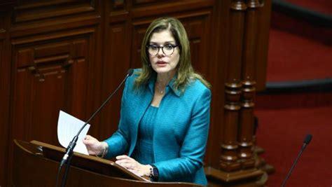 Ministerio Público Interrogará A Mercedes Aráoz  La Razón