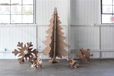 12 cleaner greener simple diy christmas tree alternatives