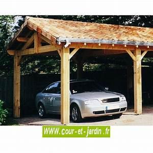 Abri Moto Bois : carport 3 voitures bois abri de voiture en kit charpente en kit ~ Melissatoandfro.com Idées de Décoration