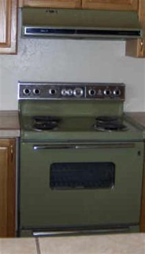 orange kitchen appliances burnt orange avocado and appliances on
