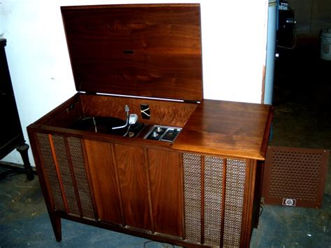 vintage record player cabinet vintage living room design with antique minimalist record