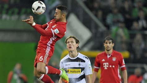 Bayern münchen are unbeaten in their last 25 home games. Borussia Mönchengladbach - FC Bayern München: Bundesliga ...