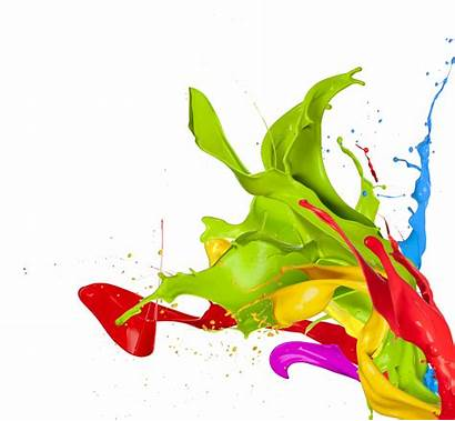 Paint Background Splashes Colored Colors Splash Abstract