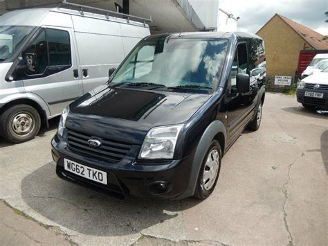 ford transit connect   trend  plate  black  owner full service history  palmers