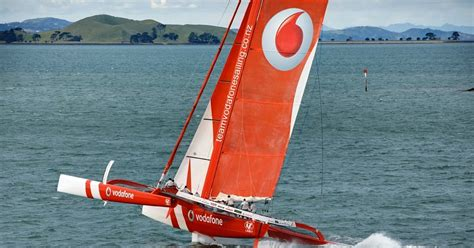 SailRaceWin: TeamVodafoneSailing: Red boat launches with ...