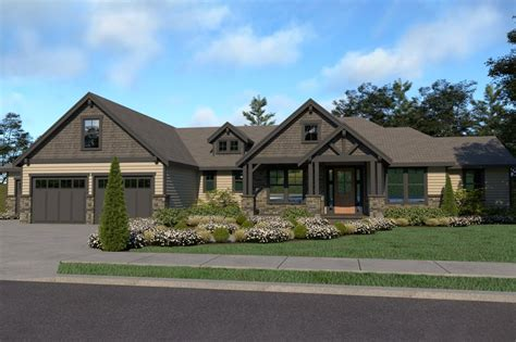 Craftsman Style House Plan 3 Beds 2 5 Baths 2546 Sq/Ft