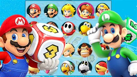 Super Mario Party All Characters Unlocked Youtube