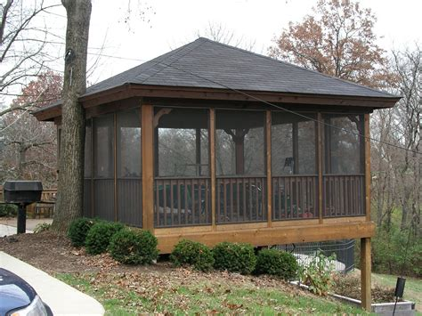 backyard porch designs for houses ideas and designs screened gazebo pinteres