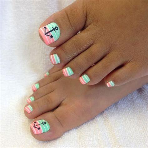summer beach toes nail designs   nails cute