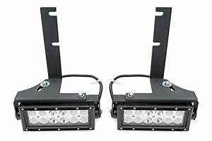 Rear Bumper Frame Led Light Bar Mount Kit 2005