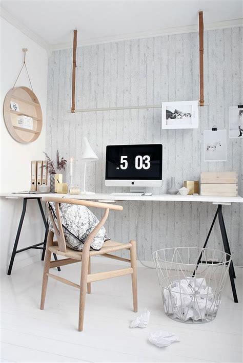 deco de bureau 30 idées pour décorer un bureau avec un style scandinave