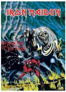 Iron Maiden Poster Trooper Number Of The Beast Eddie
