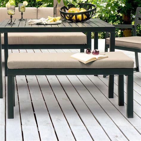 canapé banc salon de jardin kettler océan canapé d 39 angle table