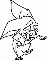 Anastasia Bat Coloring Pages Disney Cute Laugh Wecoloringpage Cool sketch template