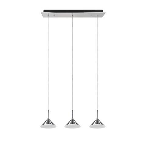 aspen creative corporation 3 light chrome integrated led