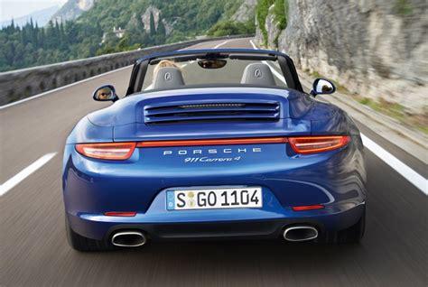 2013 Porsche 911 Carrera 4 All-wheel Drive Models Debut