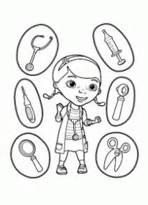mcstuffins  printable coloring pages  kids