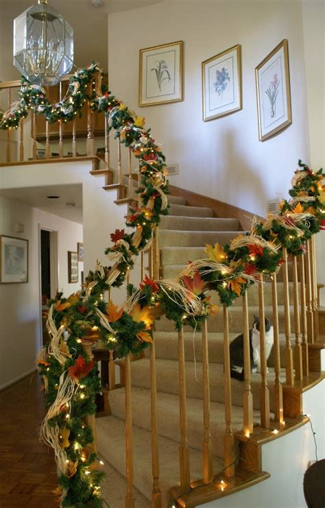 staircase decorations  holidays