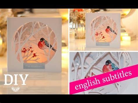 diy huebsche weihnachtskarte selber machen diy christmas