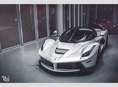 White Ferrari LaFerrari Is Supreme Eye Candy autoevolution