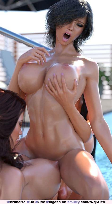Brunette D Dx Bigass Bigbreasts Perfect Bikini