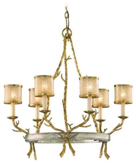 rustic country 6 light island billiard fixture rustic