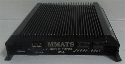 Mmats Channel Car Stereo Power Similar Items