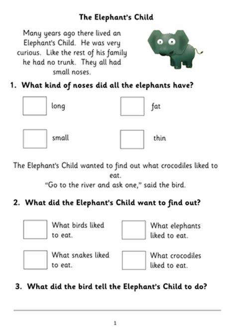 Five More Fiction Reading Comprehension Booklets For Ks1 (based On Popular Children's Stories
