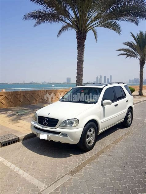 Well made with quality and precision. Used Mercedes-Benz ML350 2003 (929754)   YallaMotor.com