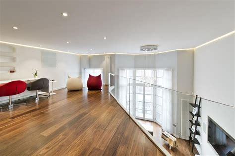 knightsbridge apartment  mezzanine study idesignarch