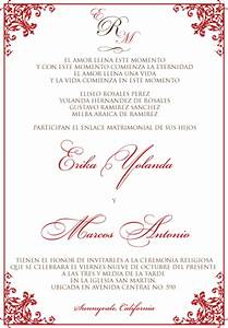 wedding invitation wording in spanish template best With wedding invitations en espanol