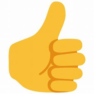 Thumbs Up Emoji Pictures to Pin on Pinterest - PinsDaddy
