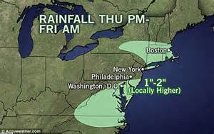 Channel Weather Forecast East Coast