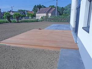 terrasses en beton lisse namur ciney brabant wallon With beton lisse pour terrasse