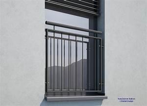Französischer Balkon Pulverbeschichtet : franz sischer balkon md02ip pulverbeschichtet anthrazitgrau ral 7016 deutschland ~ Orissabook.com Haus und Dekorationen
