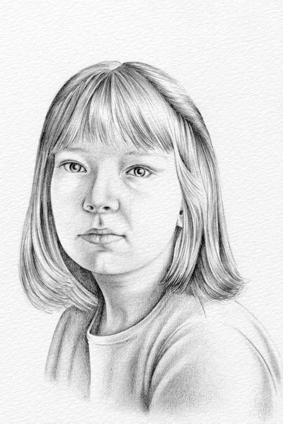 menggambar portrait  menggunakan pensil