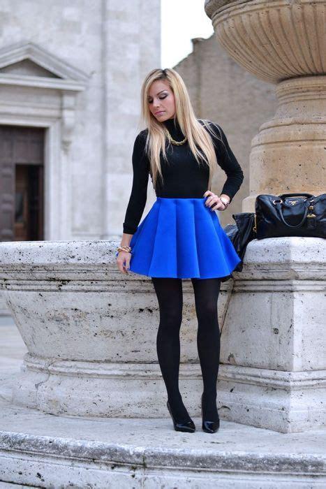30+ Ideas maravillosas de Outfits en color Azul