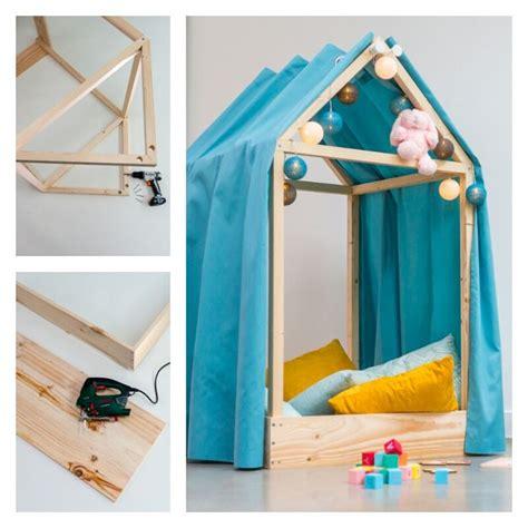 bricolage chambre b diy fabriquer une cabane de lit diy tuto tutoriel