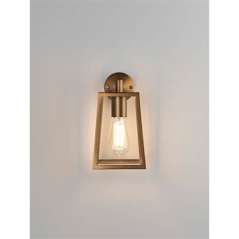 ideal home interiors astro lighting calvi single light outdoor wall fitting in