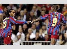 Ronaldinho agrees to join Samuel Eto'o at ambitious