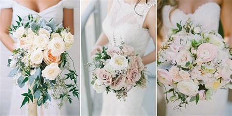 Top 15 Blush Pink Wedding Bouquets For Spring 2018
