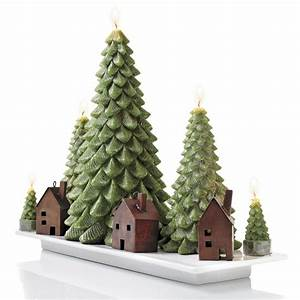 Evergreen Tree Candles - The Green Head