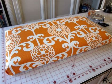 How To Make Outdoor Bench Cushions by Diy Bench Cushion No Sew Could Make These For The Deck