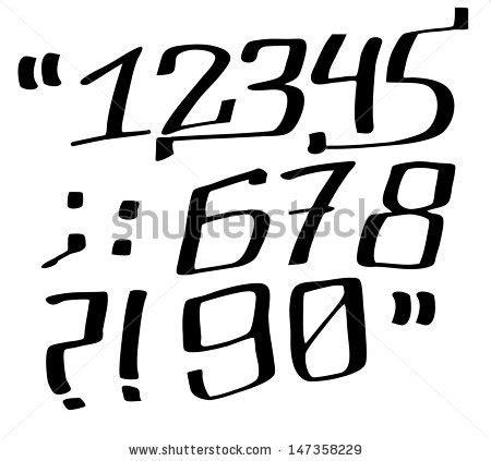 graffiti numbers