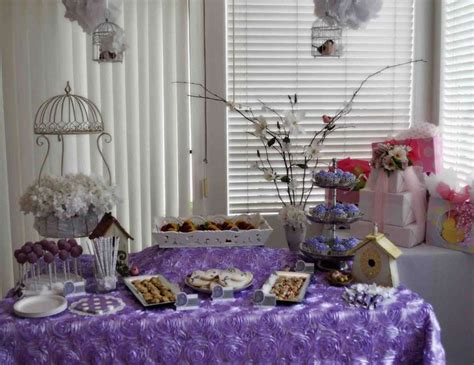 lavender baby bird shower baby shower lavender baby