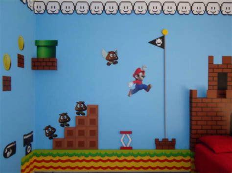 Mario Bros Bedroom by Mario Bros Theme Bedroom Theme Room Design