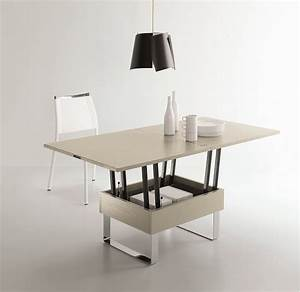 Table Basse Relevable Extensible Pas Cher