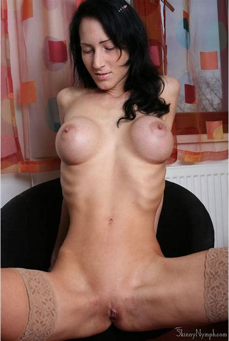 Nude Skinny Girl With Big Tits from SkinnyGirlNude.com