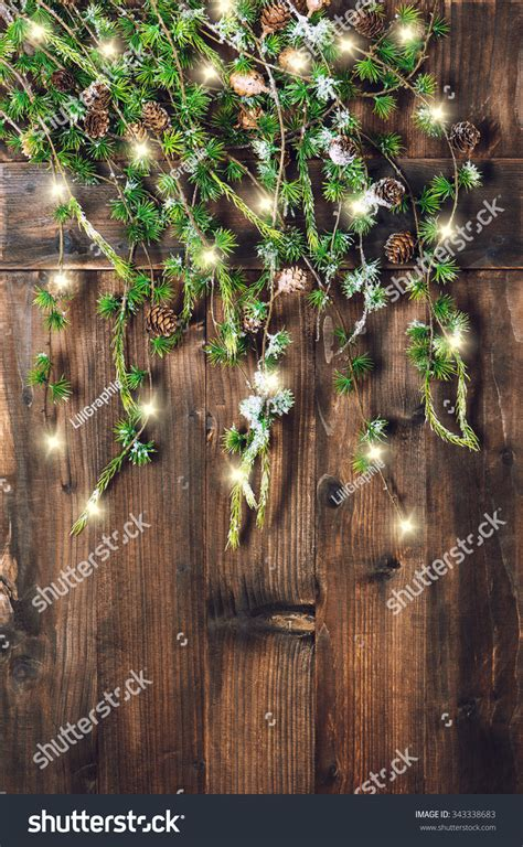 tree branches hanging rustic wooden