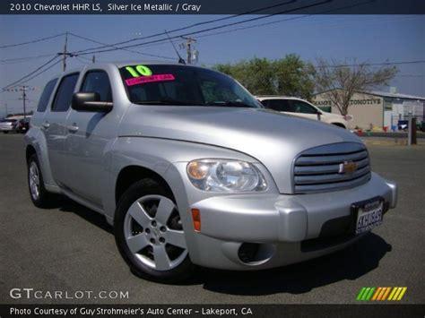 2010 Chevrolet Hhr Ls by Silver Metallic 2010 Chevrolet Hhr Ls Gray